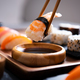 Chopstick with nigiri sushi piece - PhotoDune Item for Sale