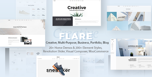 Flexible Multipurpose Theme | Flare - Creative WordPress