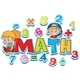 Font Design For Word Math With Many Numbers And Kids - GraphicRiver Item for Sale