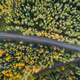 Aerial view of a car on the road - PhotoDune Item for Sale