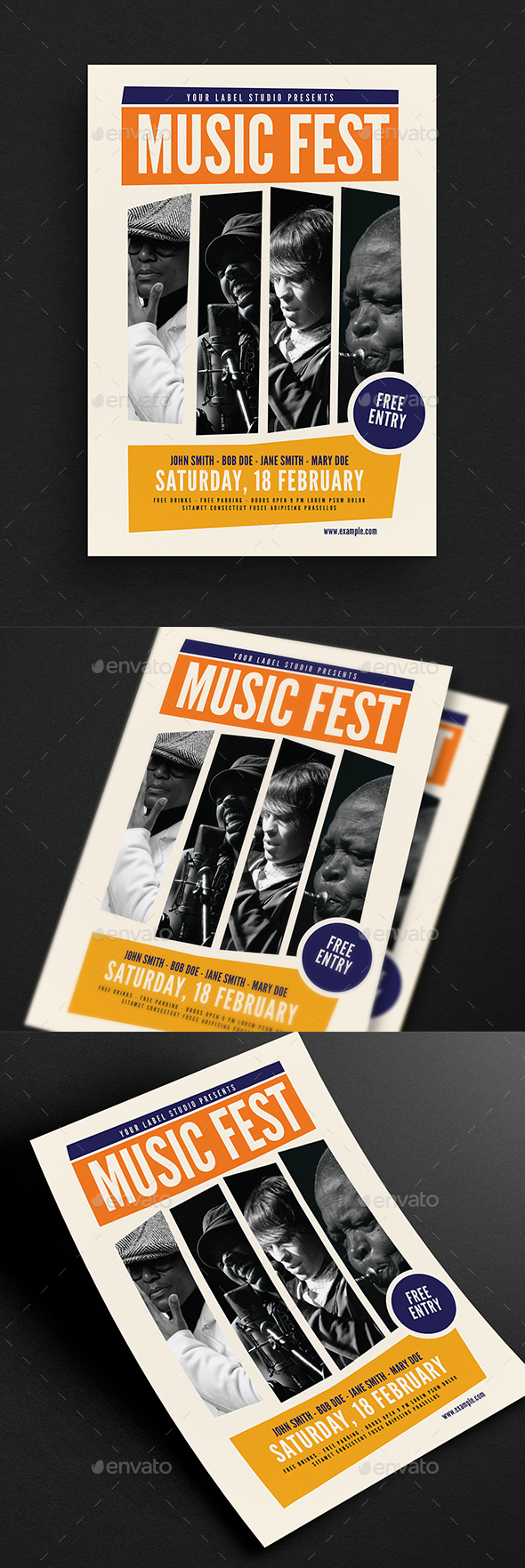Music Fest Flyer - Events Flyers