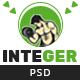 Integer - Gym Fitness PSD Template - ThemeForest Item for Sale