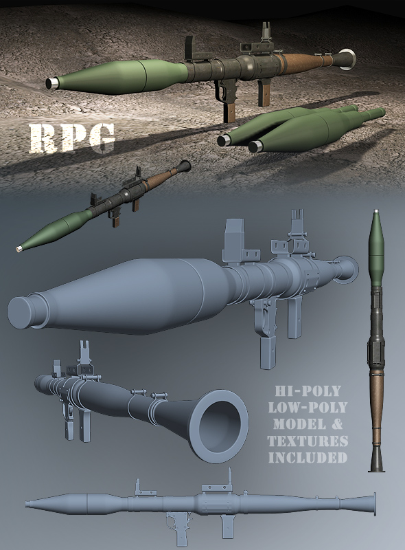 RPG Launcher - 3DOcean Item for Sale