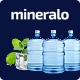 Mineralo - Bottled Water Delivery Service For Home & Office PSD Template - ThemeForest Item for Sale