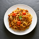 Spaghetti with minced meat and cherry tomatoes - PhotoDune Item for Sale