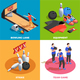 Bowling Isometric Design Concept - GraphicRiver Item for Sale