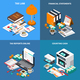 Accounting Tax Isometric Concept - GraphicRiver Item for Sale