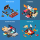 Mobile Shopping Isometric Concept - GraphicRiver Item for Sale