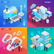 Big Data Isometric Concept - GraphicRiver Item for Sale