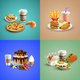 Fast Food Cartoon Concept - GraphicRiver Item for Sale