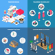 Clothes Factory Concept Icons Set - GraphicRiver Item for Sale