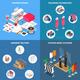 Clothes Factory Concept Icons Set - GraphicRiver Item for Sale