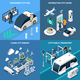 Smart City Concept Icons Set - GraphicRiver Item for Sale