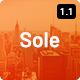 Sole - One Page WordPress Theme - ThemeForest Item for Sale