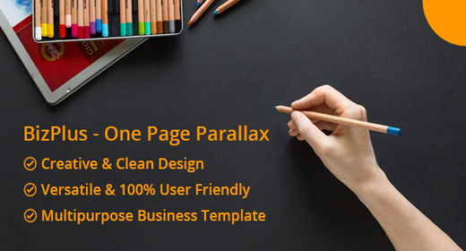 Bizplus - One Page Parallax