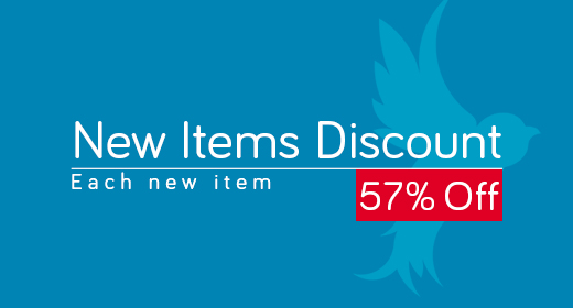 New Items Discounts