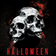 Minimal Halloween Party Flyer - GraphicRiver Item for Sale