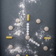 Clock formed by pills tables, conceptual image - PhotoDune Item for Sale