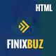 Finixbuz - Corporate & Financial Business HTML5 Template - ThemeForest Item for Sale