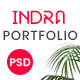 Indra | Creative Portfolio PSD Template - ThemeForest Item for Sale