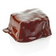 piece of chocolate covered with melted chocolate - PhotoDune Item for Sale
