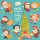 Happy Cartoon Children with Christmas Decor - GraphicRiver Item for Sale