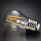 LED filament bulb on black - PhotoDune Item for Sale