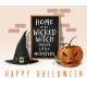 Halloween Card Home of the Wicked Witch - GraphicRiver Item for Sale