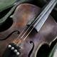 Old weathered violin on a flea market - PhotoDune Item for Sale