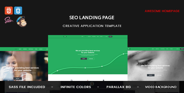 EXO | Seo Landing Page - Landing Pages Marketing