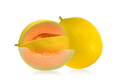 Yellow melon isolated on white background - PhotoDune Item for Sale