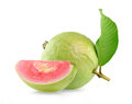 Pink Guava fruit isolated on white background - PhotoDune Item for Sale