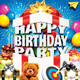 Happy Birthday Party-Graphicriver中文最全的素材分享平台