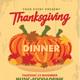 Thanksgiving Dinner Flyer - GraphicRiver Item for Sale