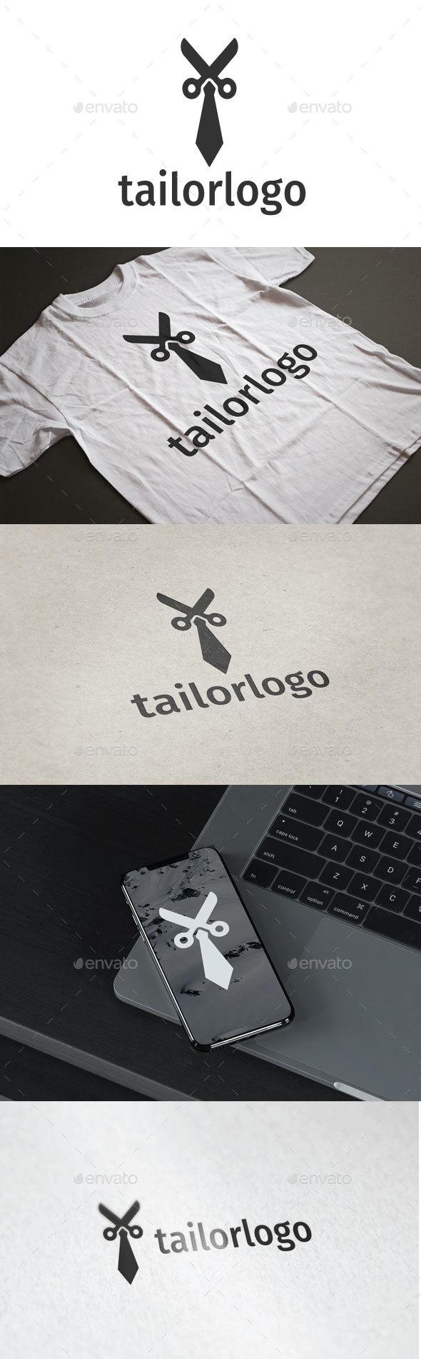 Tailor  Logo - Objects Logo Templates