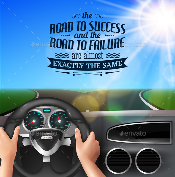 Road to Success Quotes - People Characters