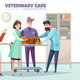 Veterinary Care Illustration - GraphicRiver Item for Sale