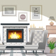 Hygge Style Interior - GraphicRiver Item for Sale