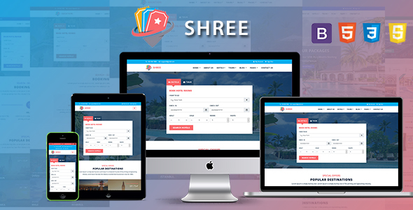 Shree - Travel and Tourism Agency HTML5 Template