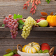 Autumn with pumpkins and fruits - PhotoDune Item for Sale