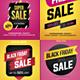 Black Friday Flyer Set - GraphicRiver Item for Sale