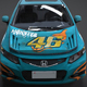 Honda Civic Racing Kit Monster - 3DOcean Item for Sale