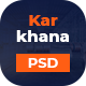 Karkhana - Industry & Factory PSD Template - ThemeForest Item for Sale