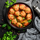 Beef meatballs in tomato sauce - PhotoDune Item for Sale