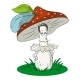 Cartoon Mushroom - GraphicRiver Item for Sale