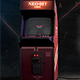 Retro Gaming Flyer v9 Classic Arcade Retro Cabinet Mock up Poster - GraphicRiver Item for Sale