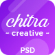 Chitra - Creative PSD Template - ThemeForest Item for Sale
