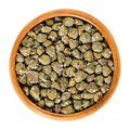 Salted capers in wooden bowl over white - PhotoDune Item for Sale