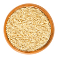 Gomashio, sesame seeds and salt, in wooden bowl - PhotoDune Item for Sale