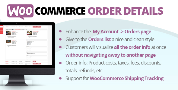 WooCommerce Order Details Free Download | Nulled